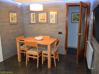 Reforma integral de cocina con office Cocinas de estilo moderno de Visaespais, reformas y rehabilitaciones en Tarragona Moderno