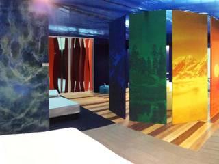 A COLOR LIFE - VIVERE A COLORI Camera da letto moderna di Studio Stefano Pediconi Moderno