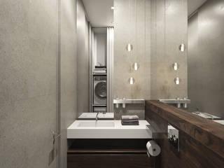 Minimalist bathroom by Kerimov Architects Minimalist