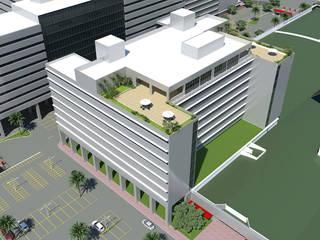 Hospital UMC - Uberlândia :   por Javert Soluções em Construção Civil,Moderno