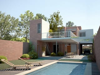 Vivienda PL Casas modernas: Ideas, imágenes y decoración de Proyectarq Moderno