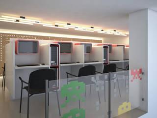 Local comercial Oficinas y comercios de estilo moderno de Proyectarq Moderno