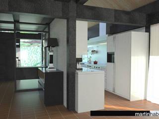 Sanierung Einfamilienhaus Oberreifenberg habes-architektur Moderne Küchen