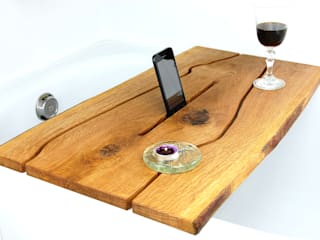 "Shelf for bath ""The River."" Place on a tablet Meble Autorskie Jurkowski BañosBaldas Madera Acabado en madera"
