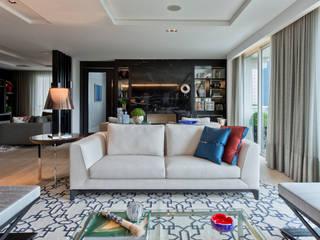 Studio Leonardo Muller Livings de estilo moderno