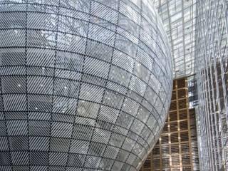 Siège du Conseil Européen et du Conseil de l'Union Européenne Palais des congrès modernes par Philippe SAMYN and PARTNERS, architects & engineers Moderne