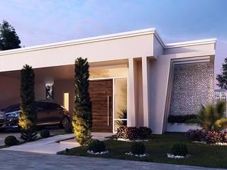 Residência Vila Branca I - Jacarei Casas modernas por Art&Contexto Arquitetura Moderno