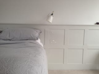 Victorian Renovation - Ealing My-Studio Ltd Modern style bedroom MDF Grey