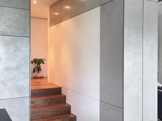Modern corridor, hallway & stairs by edelundstein GmbH Modern