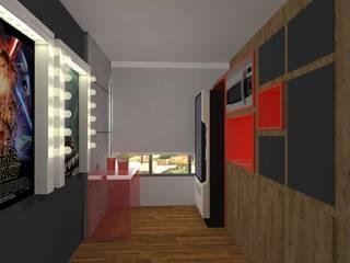 Área Comum - MaxHaus Panamby por Martins Arantes Arquitetura e Interiores