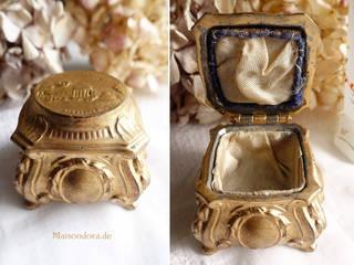 Maisondora Vintage Living Vestidores y closetsAlmacenamiento Metal Ámbar/Dorado