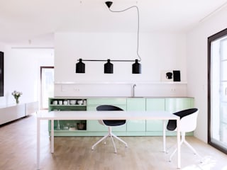 Modern Study Room and Home Office by Popstahl Küchen Modern