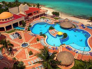 HOTEL COZUMELEÑO Albercas tropicales de Diseño Aplicado Avanzado de Guadalajara Tropical