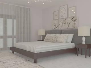 Camera da letto dai toni tenui:  in stile  di Arch. Sorbo