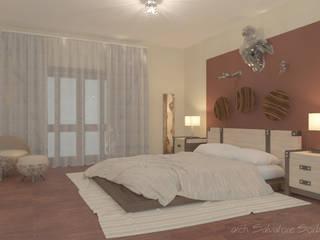 Camera da letto in legno:  in stile  di Arch. Sorbo