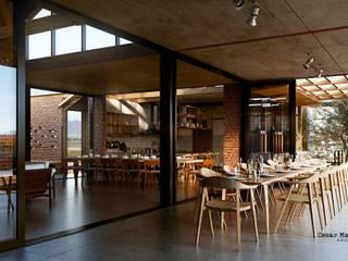 Casa Colibrí : Comedores de estilo  por Grupo G Cinco