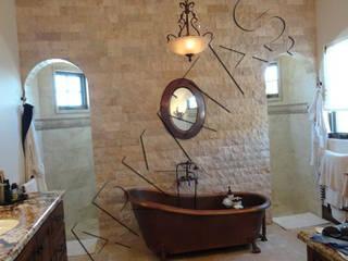 Doğal Taş İç Cephe Uygulamaları Modern Banyo Markatas Modern