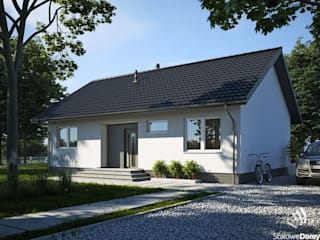 Projekt domu SD6: styl , w kategorii  zaprojektowany przez Stalowe Domy