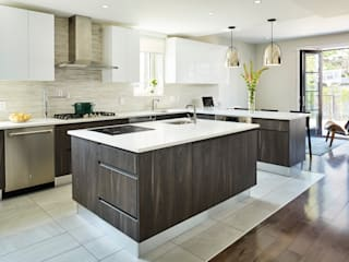 M Monroe Design Modern kitchen