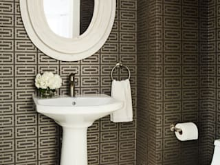 M Monroe Design Eclectic style bathroom