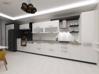 Ergun İnşaat Örnek Daire Modern Mutfak nihle iç mimarlık Modern