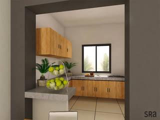 Casa Ana Cocinas modernas de SRA arquitectos Moderno