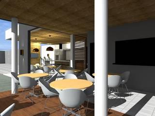 Churrasqueira H&J: Cozinhas  por paulo henrique ribeiro arquitetura