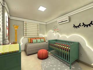 QUARTO DE BEBÊ Quarto infantil moderno por Beiral Arquitetura e Urbanismo Moderno