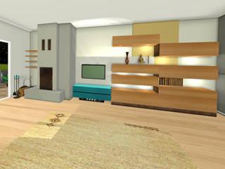 W1:  Wohnzimmer von Reinhard Rotthaus