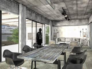 Projekty,  Jadalnia zaprojektowane przez FAARQ - Facundo Arana Arquitecto & asoc.,