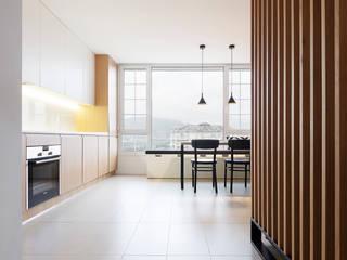 Vivienda Peixoto Cocinas de estilo minimalista de Erbalunga estudio Minimalista