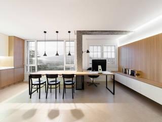 Erbalunga estudio Minimalist dining room