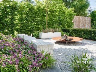 Studio architektury krajobrazu INSPIRACJE Jardines de estilo moderno