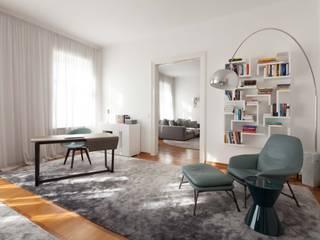 Apartment M destilat Design Studio GmbH Moderne Wohnzimmer