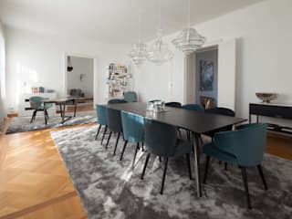 Apartment M destilat Design Studio GmbH Moderne Esszimmer