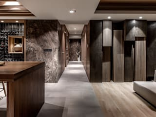 CJ INTERIOR 長景國際設計 Asian walls & floors