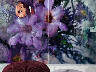 Tropical walls & floors by La Aurelia Tropical