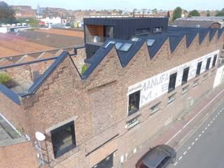Loft à Tourcoing Maisons industrielles par Agence S. Duca Architecte DPLG Industriel