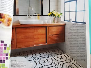 Bo Kaap Eclectic style bathroom by Studio Do Cabo Eclectic