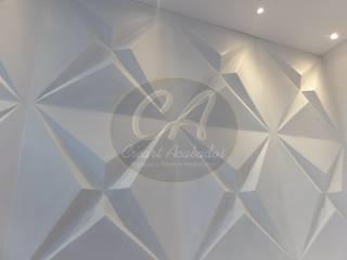 Revestimientos decorativos para muros interiores y exteriores. Star Panel:  de estilo  por Creart Acabados