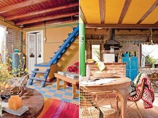 Living room by Susana Bellotti Arquitectos, Rustic