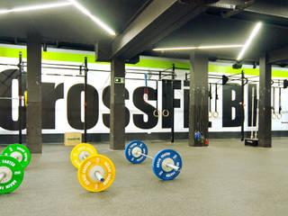 CrossFit BH 3 - Unidade Mangabeiras Espaços comerciais industriais por Daniel Carvalho Arquiteto Industrial