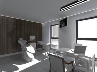 GABINET LEKARSKI W GDAŃSKU: styl , w kategorii Kliniki zaprojektowany przez apcube