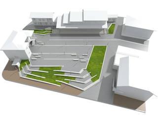 Axonométrico: Jardines de estilo  de Javier Lafita