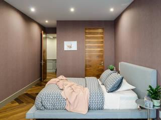 Schlafzimmer von NIVEL TRES ARQUITECTURA