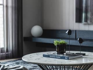 Limited, unlimited 现代客厅設計點子、靈感 & 圖片 根據 Taipei Base Design Center 現代風