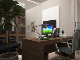 Modern study/office by DONJON Modern
