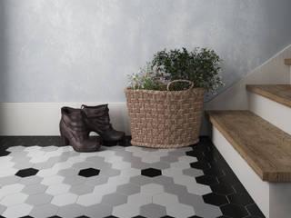 Equipe Ceramicas Koridor & Tangga Gaya Eklektik