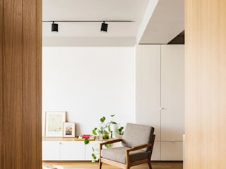 Living room by Iglesias-Hamelin Arquitectos c.b., Scandinavian