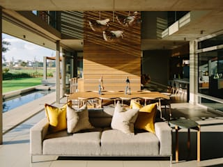 www.mezzanineinteriors.co.za Modern living room Wood Yellow